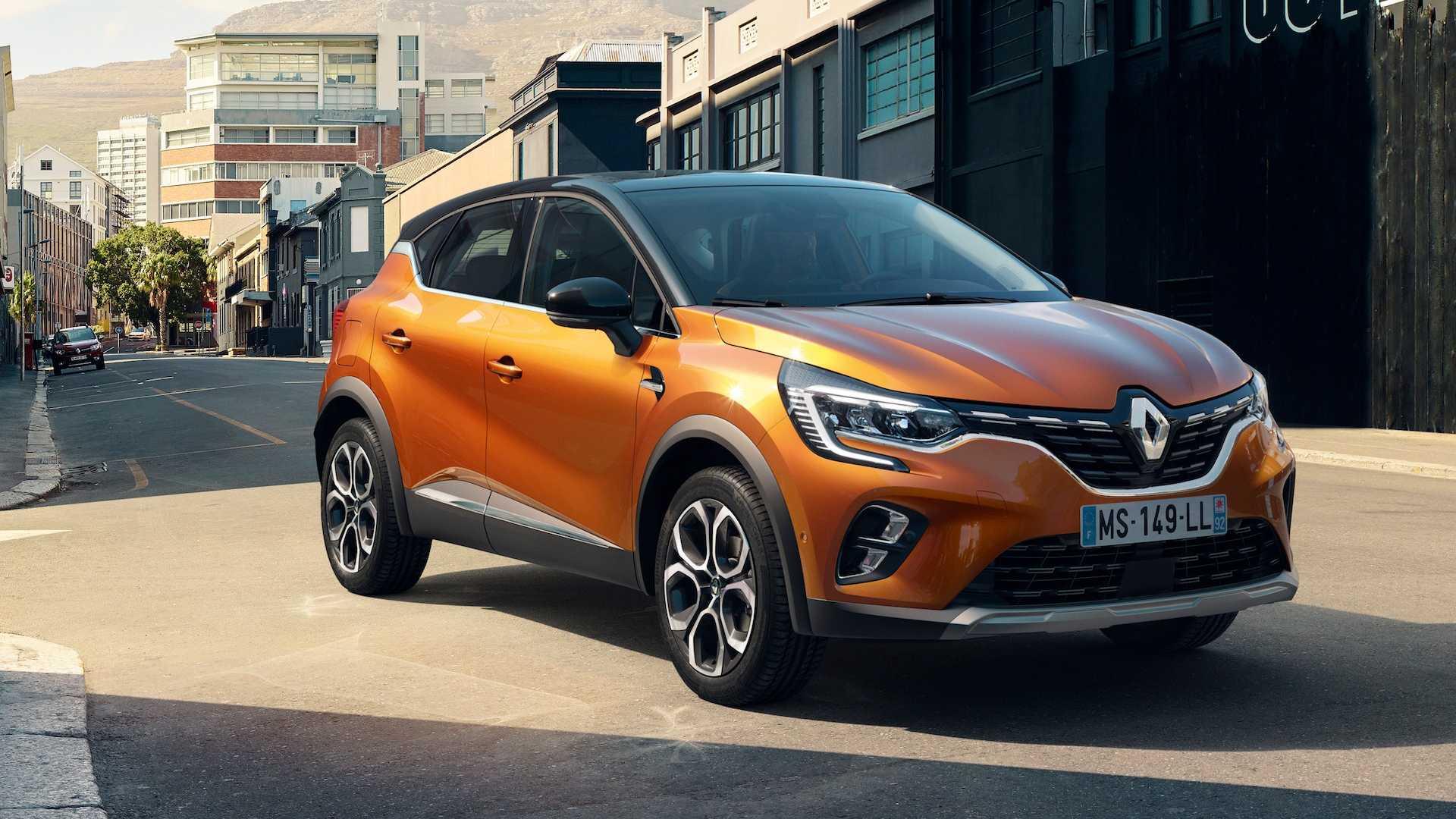 Renault Captur v oranžovej farbe, najnižšia cena, v dobrej výbave
