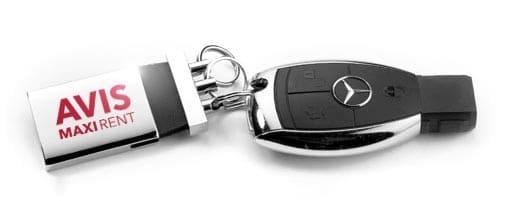 Mercedes kľúč