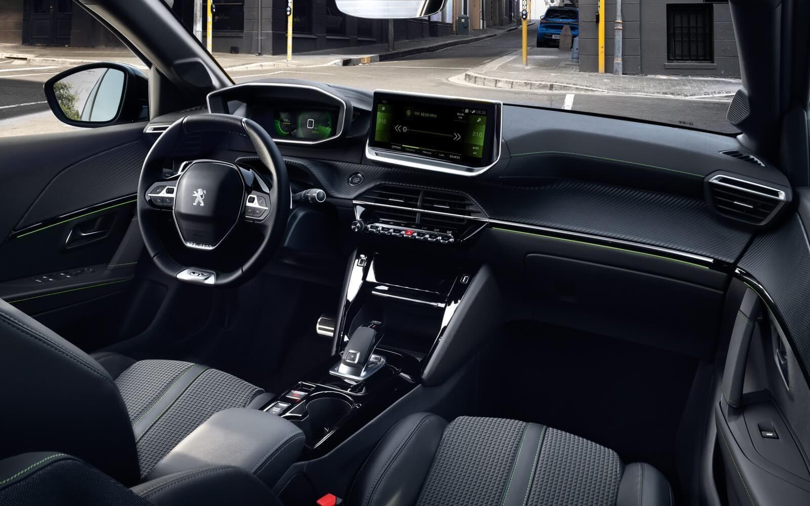 Peugeot 208 interiér, najvyššia výbava