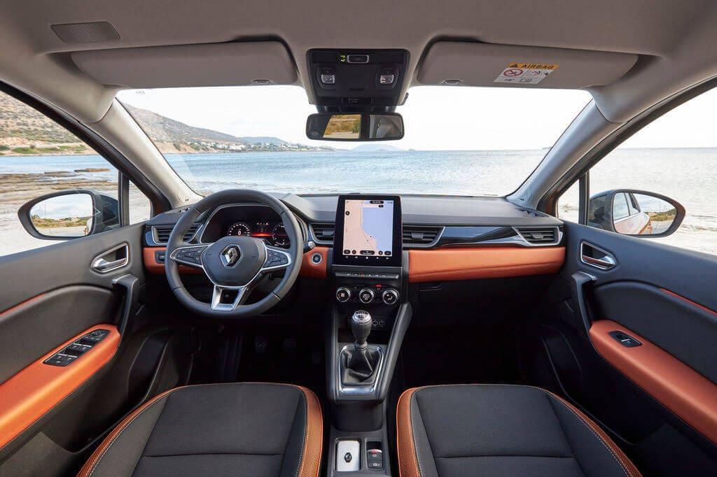 Captur interiér, plná výbava, nový Renault Captur